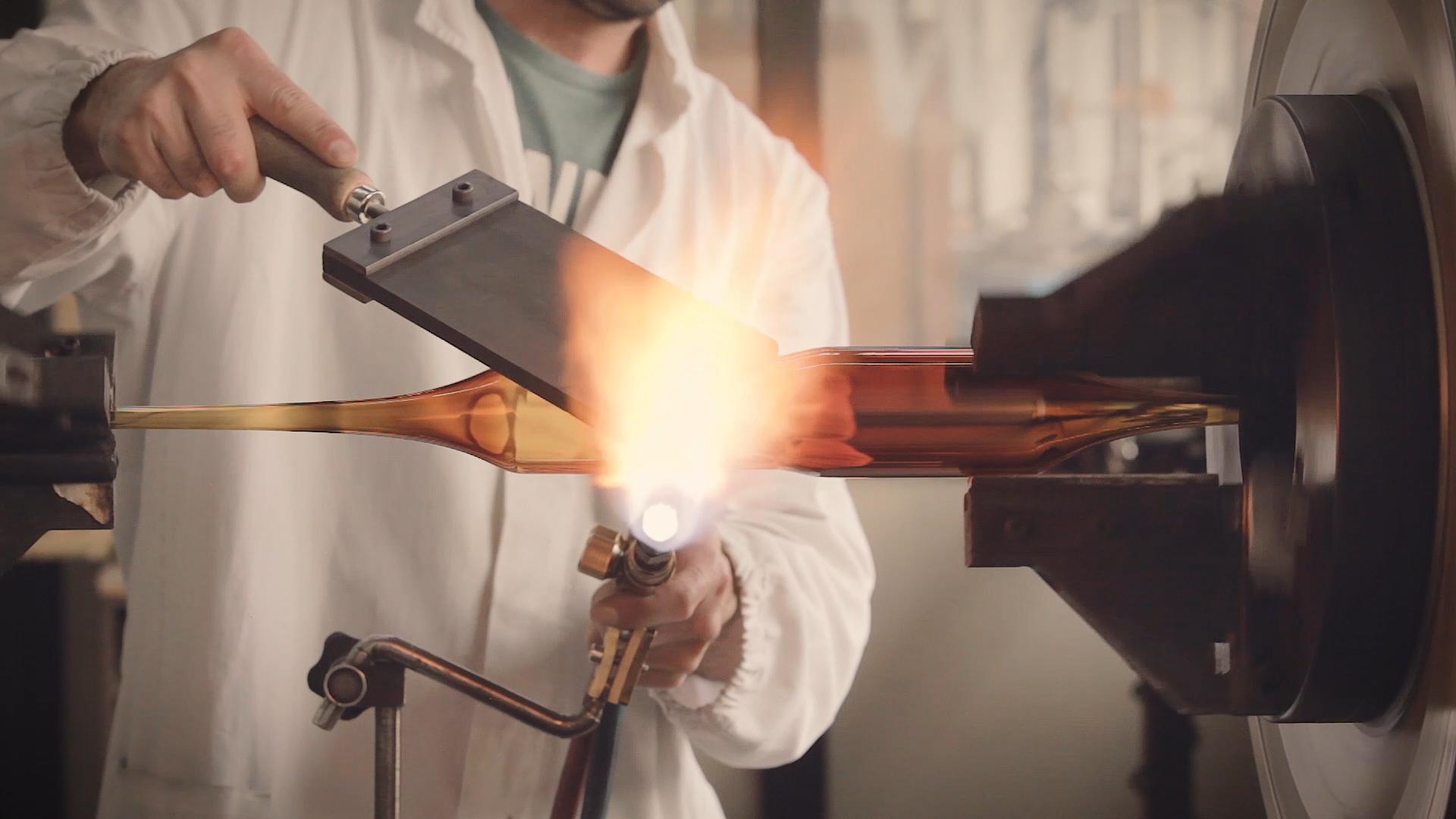 R+D Glassware Creation
